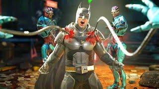 Injustice 2 All Super Move on Batman (No HUD) 4K UHD 2160p