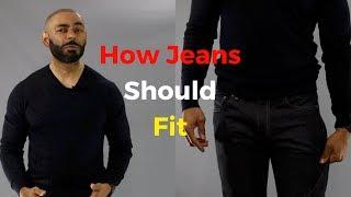 How Jeans Should Fit ( Men s Denim Guide )