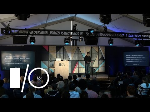 Machine learning is not the future Google I O 2016