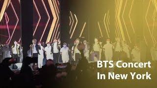 BTS fills New York's Citi Field stadium