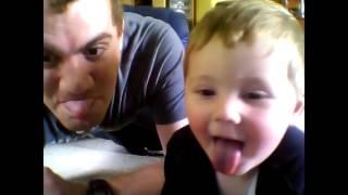 Video Of White Dynamite J R & His Son