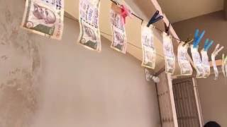 Money washing funny video 2017,How to Clean Black Money Using