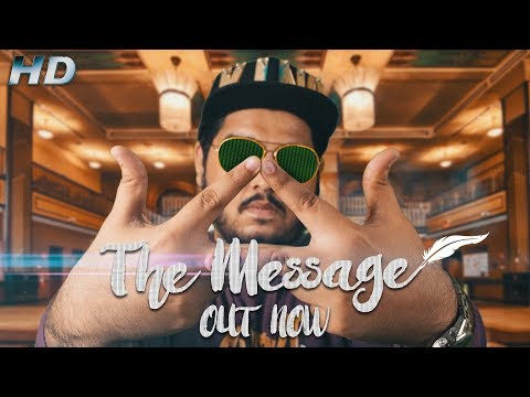 KING ND | The Message (Acapella) | Latest Hindi Rap Song | (Music Video) | Desi Hip Hop 2017