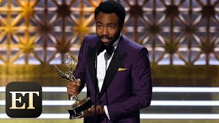 Emmys 2017: Donald Glover on Making History With Double Emmy Win, Talks Expecting Baby No. 2