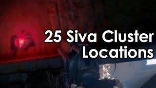 Destiny Rise of Iron: 25 Dormant SIVA Cluster Locations (Iron Lords, Clovis Bray, Fallen)