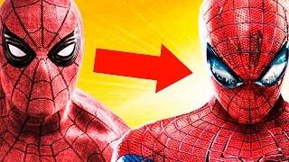 Comparación de todos los trajes de Spider-Man