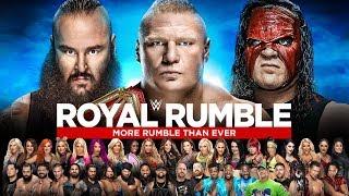 WWE Royal Rumble 2018 Highlights ᴴᴰ