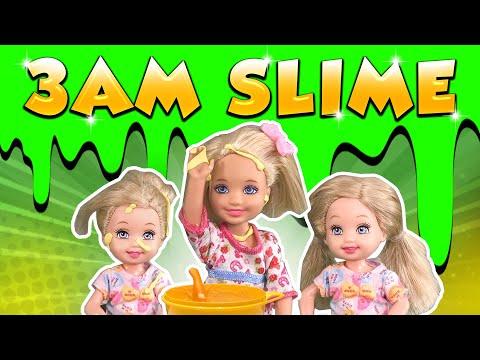 Xxx Mp4 Barbie The 3AM Slime Challenge Ep 120 3gp Sex