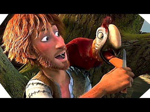 THE WILD LIFE Trailer (Robinson Crusoe Movie - 2016)