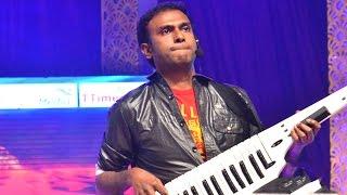 Anup Rubens Live Performance At Temper Audio Launch - Jr.Ntr, Kajal Agarwal