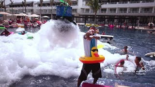 Chic by Royalton in Punta Cana Dominican Republic Foam Pool Party!