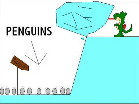 How penguins became extinct.