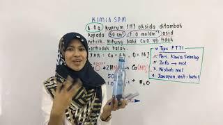 PTTI KIMIA SPM : Pengiraan mol oleh cikgu fana