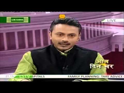 Onkareshwar Pandey on Loksabha TV on 16 Dec 2015