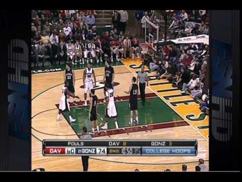 Davidson vs Gonzaga, 2009 BIS, Part 8