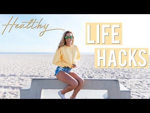 Healthy Life Hacks My Tips Everyone Should Know