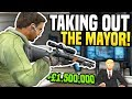 Download Video Download TAKING OUT THE MAYOR FOR £1,500,000 - Gmod DarkRP   Hitman Roleplay! 3GP MP4 FLV