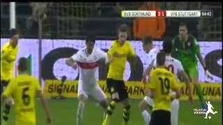 اهداف مباراة بروسيا دورتموند 6-1 شتوتجارت  الدوري الالماني