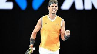 ملخص مباراة نادال و بيرديتش|ثمن نهائي بطولة أستراليا 2019 Nadal vs berdych 4th Round|Australian ope