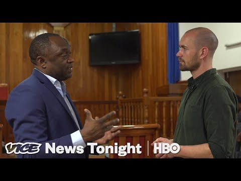 Protestors In Haiti Are Demanding The President Step Down (HBO)