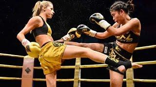 Female Muay Thai | Christina Jurjevic vs Prai Jombeung