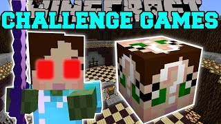 Minecraft: EVIL JEN CHALLENGE GAMES - Lucky Block Mod - Modded Mini-Game