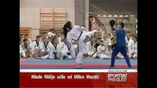Milica Mandic u Nisu 01 02 2016 TV KCN