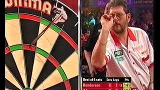 Adams vs Henderson Darts World Championship 2005 Round 2