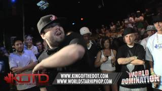 KOTD - Rap Battle - Bender vs 24/7 | #WD1