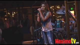 ASHLEY TISDALE Rocking it! at Americana at Brand Aug 12, 2009