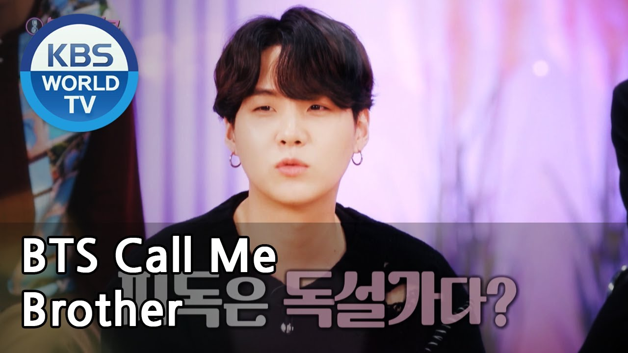 BTS Call Me Brother [Immortal Songs 2 / ENG / 2020.11.14]