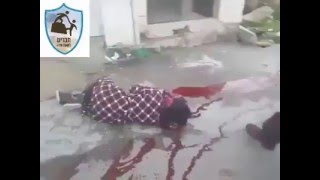 +18 *GRAPHIC* Palestinian girl shot and left bleeding to death by IOF soldiers
