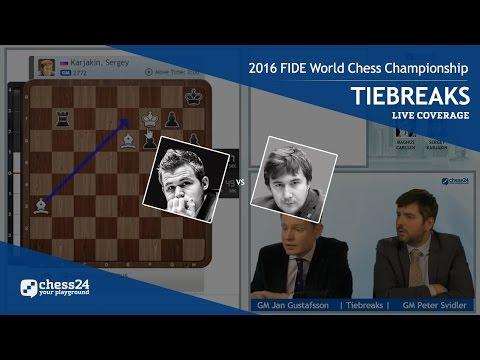 Xxx Mp4 2016 FIDE World Chess Championship Magnus Carlsen Vs Sergey Karjakin Tiebreaks 3gp Sex