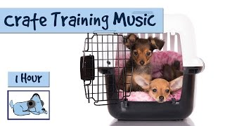 Calming Music to Help Crate Train Your Dog or Puppy! 🐶 #CRATE03