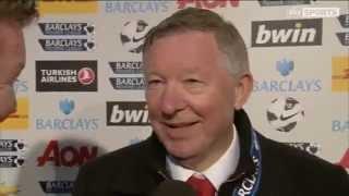 Sir Alex Ferguson final Home game post match interview 5/12/13