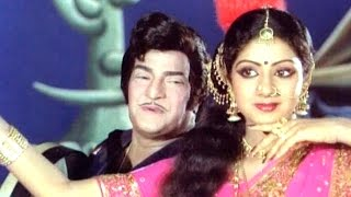 Nee Aata Naa Paata Full Video Song || Anuraga Devatha Movie || N.T.R, Sridevi