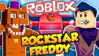 ROBLOX FNAF 6 Rockstar Freddy's Pizza Place The Roleplay Game! Five Nights at Freddy's 6 Roblox