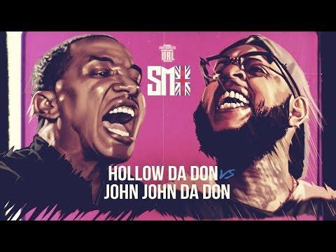 HOLLOW DA DON VS JOHN JOHN DA DON RAP BATTLE URLTV