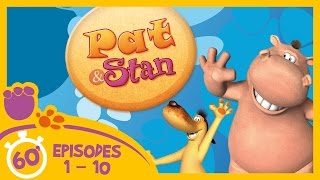 Pat and Stan: Full Episodes 1 - 10 (60 Minutes Compilation)