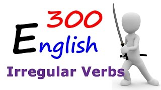 Learn 300 Irregular verbs in English | English Grammar lessons in Hindi for Indians व्याकरण