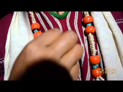 Monpa tribe women dress in Arunachal Pradesh, North East India.