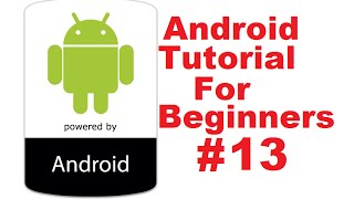 Android Tutorial for Beginners 13 # How to Start New Activity On Button Click via Intent
