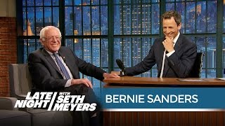 Senator Bernie Sanders Plans to Vote Against the USA Freedom Act - Late Night with Seth Meyers