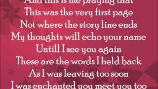 Owl City - Enchanted (Taylor Swift cover) lyrics
