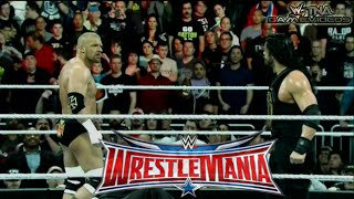 WWE WRESTLEMANIA 32 - 2016 - Roman Reigns vs. Triple H - WWE World Heavyweight Championship Match