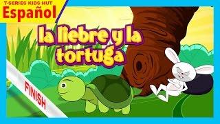 la liebre y la tortuga - historias español || cuentos cortos