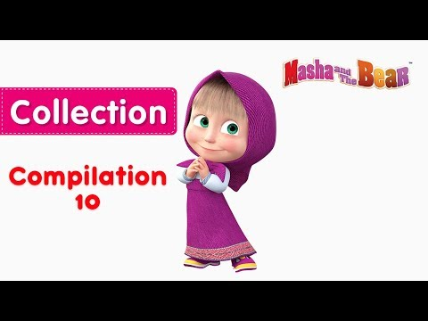 Xxx Mp4 Masha And The Bear Compilation 10 😍 3 Episodes In English 3gp Sex