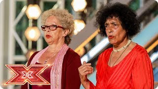 Nicole and Louis join Just Us but can they get 4 yeses?   Auditions Week 4   The X Factor 2017