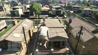 GTA 5: Super Hardcore Parkour Jump Stunts/Free Running