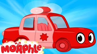 My Red Police Car  Morphle - My Magic Pet Morphle Episode For Kids
